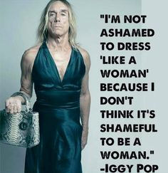 The most awesome Iggy Pop! <3