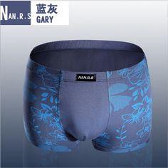 Gender: Men Briefs & Boxers: Boxer Shorts Pattern Type: Print Brand Name: NAN.R.S Material: Bamboo Fiber Material: Modal Material: Spandex Model Number: NN002