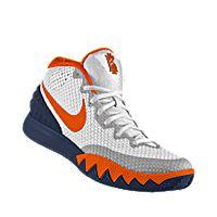 check out e0e71 f5862 I designed the white Virginia Cavaliers Nike men s basketball shoe with  dark blue and orange trim