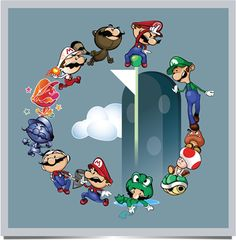 As a child of the it always bothered me that Luigi took such a backseat to that itembox-hogging, Princess-claiming, scene-stealing brother of his! Mario v Luigi Super Mario All Stars, Super Mario Art, Mario And Luigi, Mario Bros, Geek Games, Fun Games, Video Game Art, Video Games, Arte Nerd