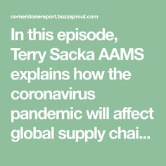 In this episode, Terry Sacka AAMS explains how the coronavirus pandemic will aff. - In this episode, Terry Sacka AAMS explains how the coronavirus pandemic will affect global supply ch - Health Images, Health Pictures, Perfect Image, Perfect Photo, Love Photos, Cool Pictures, Endocrine System, Global Economy, Newborn Care