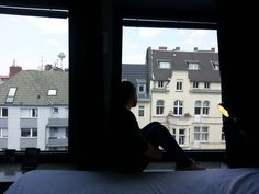 Amelia Cartmel: A trip away to cologne for a few days. Amazing room and trip away with one of my roommates. Cologne was such an amazing city so one day before going out to explore, this photo was taken with me sitting on the window sill looking over the beautiful street.