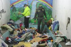 Policía se tomó la cárcel de Riohacha, se incautó: Licor, Drogas, armas y celulares ~ Hoy es Noticia