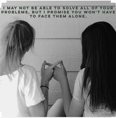 Everyone has a BFF that they could not live without, so here are some totally BFF-worthy quotes to celebrate our beloved soul sisters and partners in crime. Besties Quotes, Bffs, Cute Quotes, Bestfriends, Soul Sister Quotes, Girl Best Friend Quotes, Sister Sayings, Cherish Quotes, Best Mate Quotes