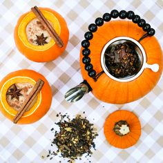 Thirsty For Tea Pumpkin Tea Set