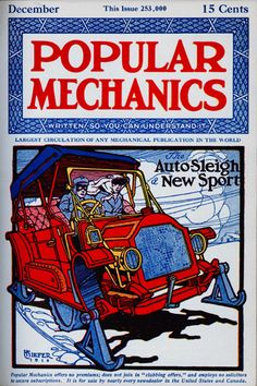 Get your vintage car fix with these classic Popular Mechanics cover pictures from the archive. Old Magazines, Vintage Magazines, Carlos Rossi, Science Magazine, Magazine Art, Mechanical Workshop, Small Cafe Design, Cover Pics, Cover Art