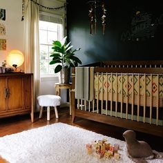Gorgeous nursery. This is cute!  Kind of dark tho.. your pins seem more white and bright.  Anyway, kind of cute!