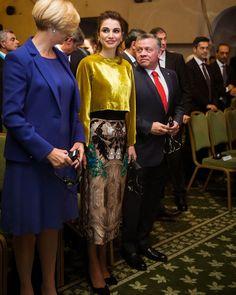 «مع جلالة الملك في مؤتمر حوار روما  ومنطقة البحر الأبيض المتوسط  #الأردن #حب_الأردن #روما #ايطاليا  With His Majesty at the Rome Mediterranean Dialogue…»