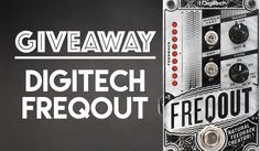LAST DAY! #Win a Digitech FreqOut! Feedback #Guitar Pedal  Enter: http://swee.ps/cuuNeCOTo Share Please