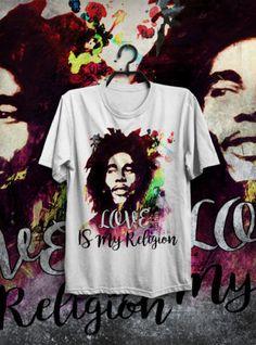 T-SHIRT MAGLIETTA REGGAE BOB MARLEY ONE LOVE FESTIVAL INDIE HAPPINESS RASTAFARI in Abbigliamento e accessori, Uomo: abbigliamento, T-shirt | eBay
