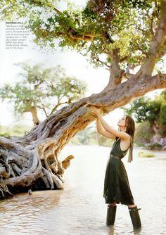 Keira Knightley, Keira Christina Knightley, Vogue Photo, Vogue Us, Viviane Sassen, Grace Coddington, Hunter Wellies, Hunter Boots, Arthur Elgort