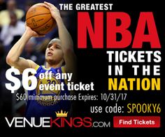 $17 Off Tickets at Venue Kings Starts Oct 17th Nba Tickets, Event Ticket, Events, Sports, Sport