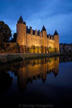 Bildarchiv Josselin by Herzig - Josselin Castle - Brittany, France
