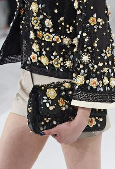 Nothing beats this combination from the Chanel Cruise Collection.