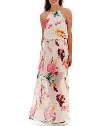 vestidos de flores largos - Buscar con Google