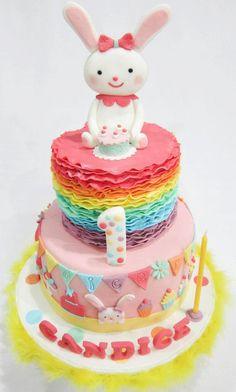 My niece 1st Year Birthday Cake