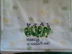 Baby Burp Cloths