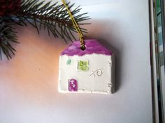 Check out this item in my Etsy shop https://www.etsy.com/listing/260775408/ornament-ceramic-houses-gift-tag