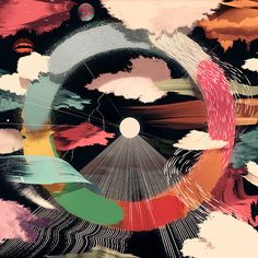 Awesome showcase about abstract illustrations designed bySanttu Mustonen