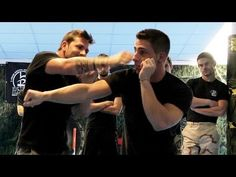 KRAV MAGA TRAINING • End a fight in 3 seconds! It is in Italian with English subtitles. I think it is very impressive!!