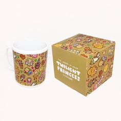 Twilight Princess Pattern ~ The Legend of Zelda: Twilight Princess ~ Mug and Box Set