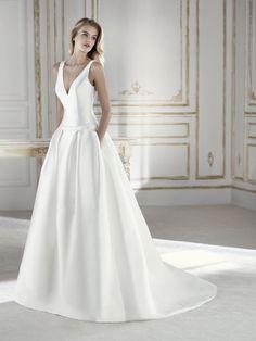 PRADO vestido de novia princesa