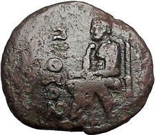 KOLOPHON in IONIA 1CenBC Poet Homer of ODYSSEY Apollo Ancient Greek Coin i55903 https://trustedmedievalcoins.wordpress.com/2016/06/04/kolophon-in-ionia-1cenbc-poet-homer-of-odyssey-apollo-ancient-greek-coin-i55903/