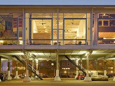 Loft House, Amsterdam,  Marc Koehler Architects