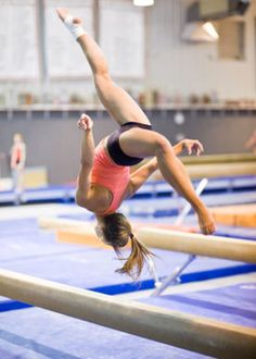 <3 gymnastics  I want to get back into it. I loved it when i was younger. Going to be part of my new life. :D