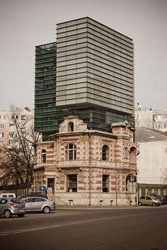 Union of Architects of Romania by Dominuz, via Flickr