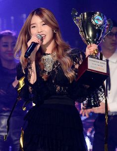 "IU Earns #1 Trophies On ""Music Core,"" ""Music Bank,"" ""M!Countdown,"" and ""Show! Champion"" - Soompi"