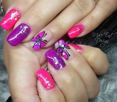 BIAB extensions with neon gel and pigment butterflies on accent fingers #neonnails #butterfly @colourshack #colourshack #pigments @the_gelbottle_inc #thegelbottle #inklondon #pigments  #builderinabottle #pinknails  @scratchmagazine #gelpolish #nails #nailsoftheday #nailart #showscratch #scratchmagazine #notd #nailsofinsta #naildesign #naildesigns #shaftesburynails #dorsetnails #gillinghamnails #moleenddesign