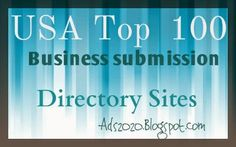 Your Business Web Promotion may Be Incomplete if you haven't submitted it to these #Top100 #USA Local Biz #Directories! Target your Local audiences using   these best of Citation Based Promotional Webs! #local #advertising #business #submission