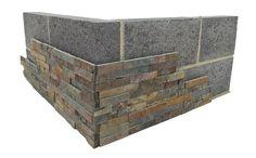 Stoneface natuursteenpanelen voor wandbekleding | Marshalls