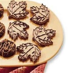 Maple Leaf Cookies from Pillsbury® Baking