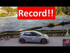 VOLKSWAGEN ID.3 made a SINGLE CHARGE RECORD trip of 531 km from ZWICKAU to Schaffhausen - YouTube