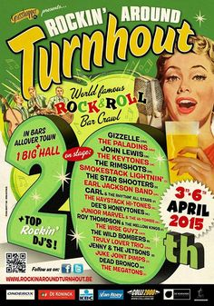 Rockin' Around Turnhout - 3rd-6th April 2015 Belgium