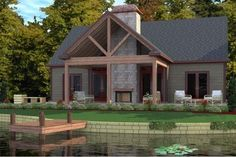3 bedroom house plan with open concept