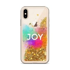 JOY Liquid Glitter iPhone Phone Case
