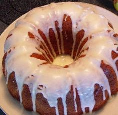 This orangey fuzzy navel cake so moist you'll be hard pressed not to eat another slice.