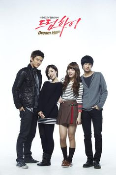 Dream High (Korean Drama)   :: Delving into the world of young hopefuls who are being groomed and trained to enter the cut-throat, brutal business of being an idol. One that tests each and every one of them in ways they may not have been ready for. On my top ten list.