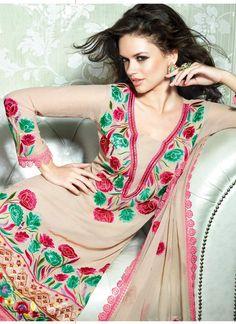 Artistic Resham Art Georgette #Salwar Suit
