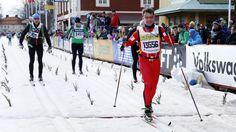 Crown Prince frederik participated  the Vasaloppet ski race in Sweden.
