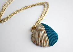 Dipped sea shell
