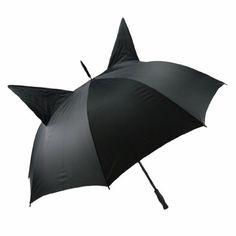 Umbrella with little cat ears CAT EAR black/ black Poizen Industries http://www.amazon.co.uk/dp/B005UKTMWC/ref=cm_sw_r_pi_dp_HBJ2tb1B0MTYZWH6