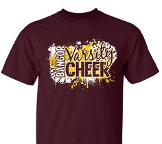 d986bad5 High School Impressions search Varsity High School Cheer T-Shirts- Create  your own design for t-shirts, hoodies, sweatshirts. Choose your Text, Ink  and ...