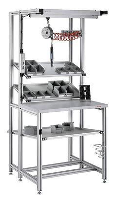 Working bench aluminum