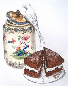 Spiced Chocolate Sponge Cake