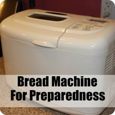 The humble bread machinecan be a treasure trove of usefulness to the savvy preparedness minded person. It might be easy to dismiss an appliance, that is more at home at a bridal shower, than a gun show as less than a hardcore  preparedness item, but it is one nonetheless. The bread machine brings a lot to the table for those who are willing to give it a shot. It makes a quick and easy loaf of bread and can mix/proof doughs for other uses.
