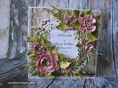 Elina Cardmaking Hobby: Wedding card